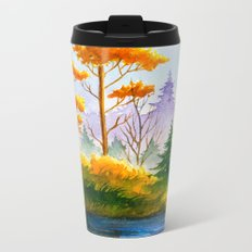 Autumn scenery #12 Metal Travel Mug