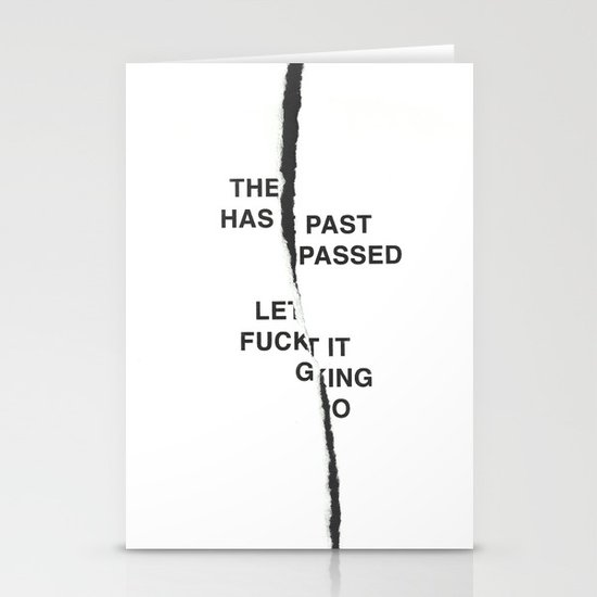 LET IT FUCKING GO /first vers./ Stationery Cards