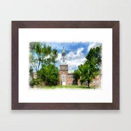 Dartmouth College Framed Art Print