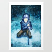jack frost Art Prints featuring Jack frost by keiden