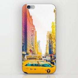 Colors of New York City Downtown Manhattan iPhone Skin