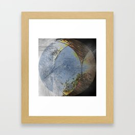 Different opinions. Framed Art Print