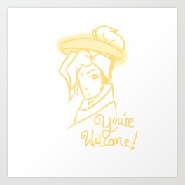 Mercy - You're Welcome! Art Print