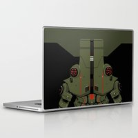 pacific rim Laptop & iPad Skins featuring Pacific Rim - Cherno Alpha - Minimal Poster by John Takacs