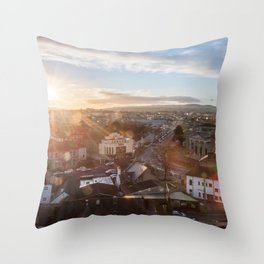 First Tower in Ireland Throw Pillow