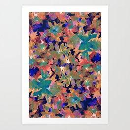 Excluded Floral Art Print