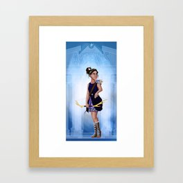 Greek Goddesses - Artemis Framed Art Print