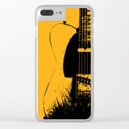 Telecaster Guitar - Keith R. Clear iPhone Case