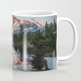 Cascade Sunset - Mt. Shuksan - Nature Photography Coffee Mug