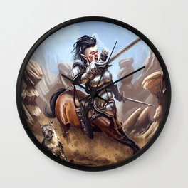 Centaur charge Wall Clock