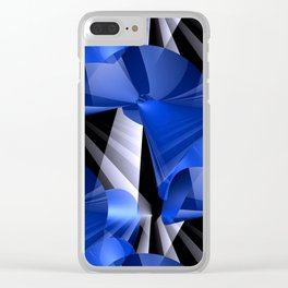 3D abstraction -03a- Clear iPhone Case