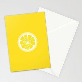 Lemon Fruit Slice Summer Fun Stationery Cards