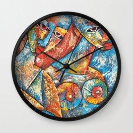 Art Women Wall Clock