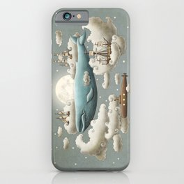 Ocean Meets Sky - colour option iPhone Case