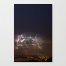 Radiating Storm Canvas Print