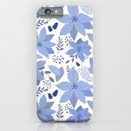 Serene Poinsettia iPhone Case