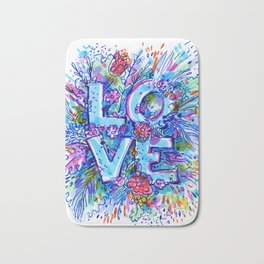 love marker Bath Mat
