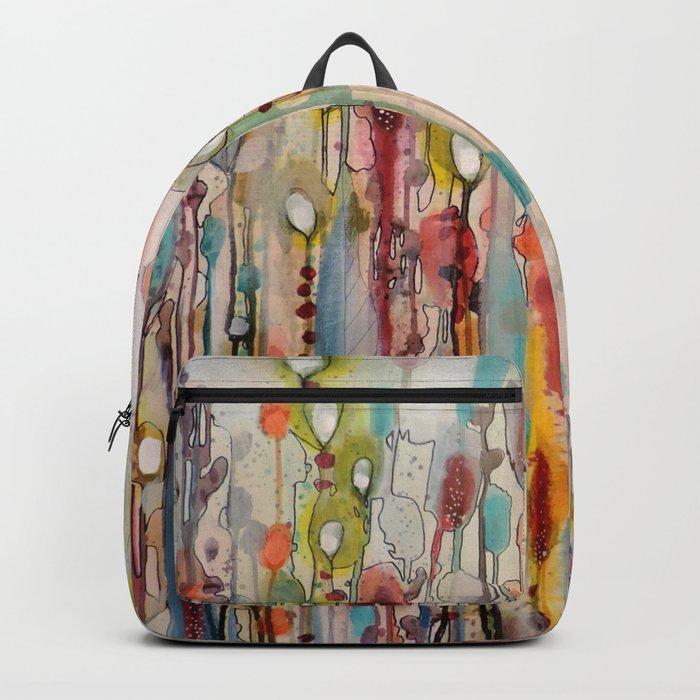 la vie comme un passage Backpack