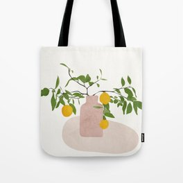 Lemon Branches Tote Bag