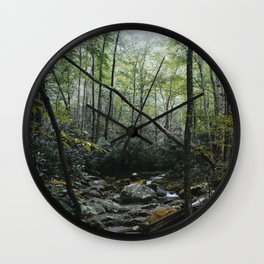 Great Smoky forest Wall Clock