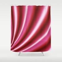 candy Shower Curtains featuring Candy by Christy Leigh