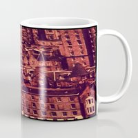 edinburgh Mugs featuring Edinburgh by Molly Smiles