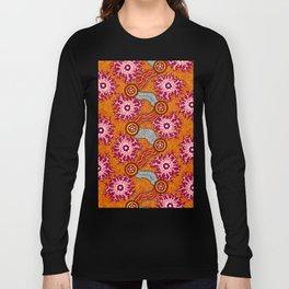 Aboriginal Art Authentic – Journey 2 Long Sleeve T-shirt