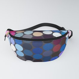 Abstract Geometric Art Colorful Design 520 Fanny Pack