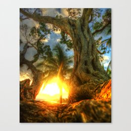 Ocho Rios Sunrise Canvas Print