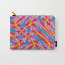 Wacky Plaid Carry-All Pouch