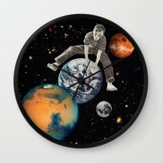 Star Hopper Wall Clock