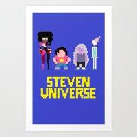 steven universe Art Prints featuring Steven Universe by NeleVdM