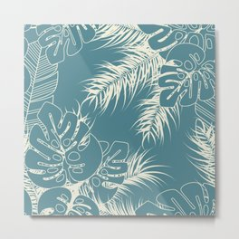 Tropical pattern 038 Metal Print