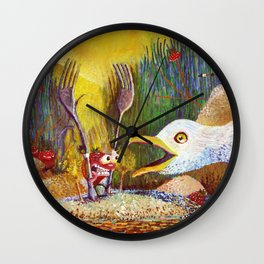 Cedarburb Strawberry Wall Clock