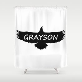 Grayson Eagle Shower Curtain