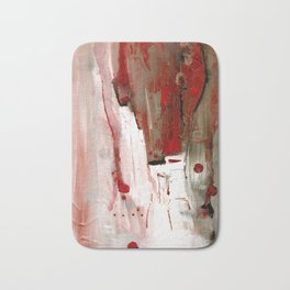 Abstract Horse Bath Mat