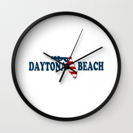 Daytona Beach - Florida. Wall Clock