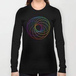 Spiranbow Graph Long Sleeve T-shirt