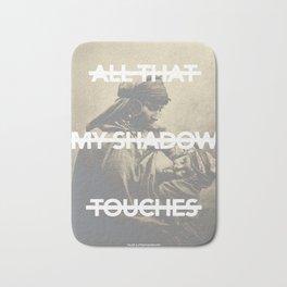 All That My Shadow Touches Bath Mat