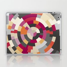 Concentric Rings Grey Laptop & iPad Skin
