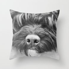 Sleepy Head Throw Pillow