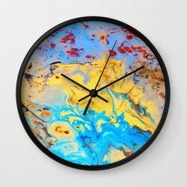 spring in janurary Wall Clock