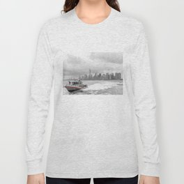Coast Guard and NYC Long Sleeve T-shirt