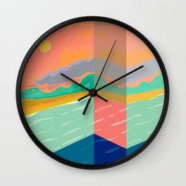 Don't Stop My Summer Wall Clock