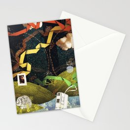 Rain Ribbons Stationery Cards