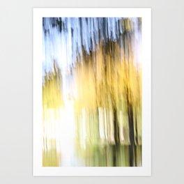 autumn abstract #12 Art Print
