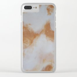 All That's Golden Glitters Clear iPhone Case