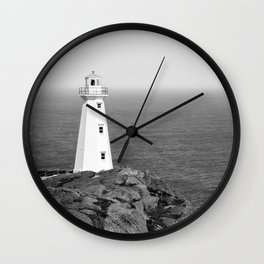 Cape Spear Lighthouse No.4 Wall Clock