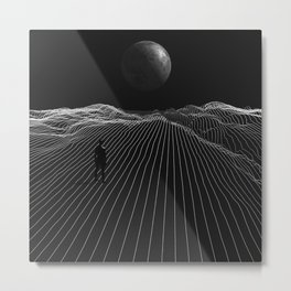 Keep It Simple Metal Print