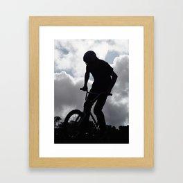 Sky Rider Framed Art Print